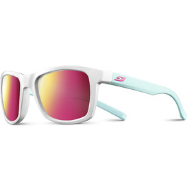 Julbo Beach Spectron 3CF Zonnebril Heren, shiny white/blue/multilayer rosa